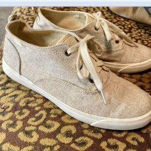 Keds Womens Sneakers Triumph Mid Wool Oatmeal 8.5